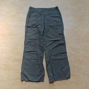 Women's GAP Wide Leg Linen Pants Size 12